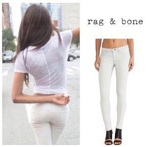 GORGEOUS!  Rag & Bone skinny jeans in 'the wedge'